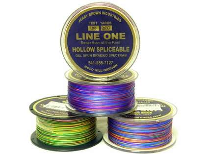 Jerry Brown Decade Line One Hollow Core Spectra Braided Line 2500yds