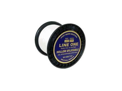 Jerry Brown Line One Hollow Braided Spectra Line 1750 Yds.