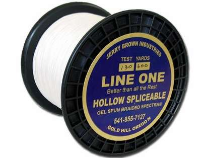 Jerry Brown Line One Hollow Core Spectra Braided Line 150yds