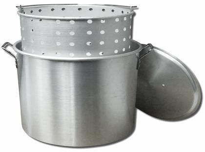 King Kooker KK100 Aluminum Boiling Pot