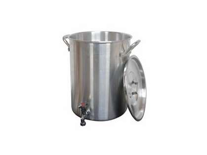 King Kooker 30PKSP Aluminum Turkey Pot with Spigot