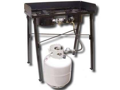 King Kooker CS33LP Low Pressure Double Burner Camp Stove