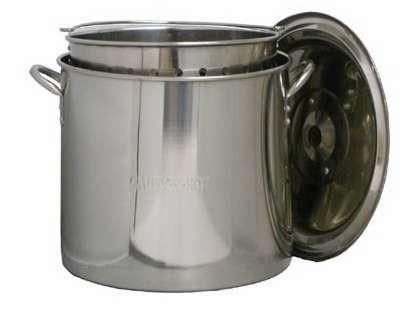 King Kooker Stainless Steel Boiling Pots