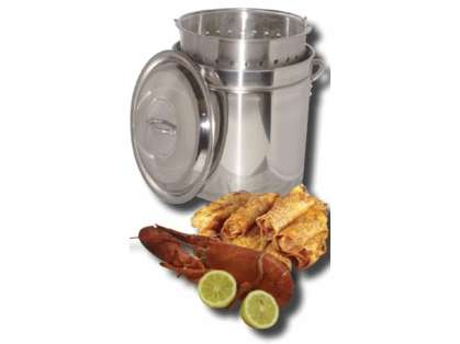 King Kooker Stainless Steel Boiling/Steaming Pot KK102SR