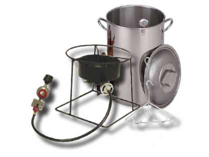 King Kooker Stainless Steel Turkey Fryer Package SS1267