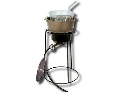 King Kooker Tall Fish Fryer Iron