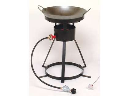 King Kooker Wok Outdoor Cooker Package 24WC