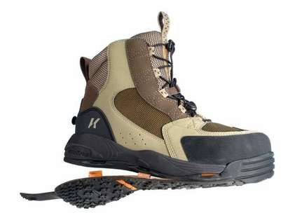 Korkers FB3320 Redside Boot with Kling-On and Studded Kling-On Soles