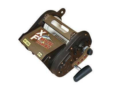 Kristal Fishing XF 655 M Variable Speed Manual Override Electric Reel