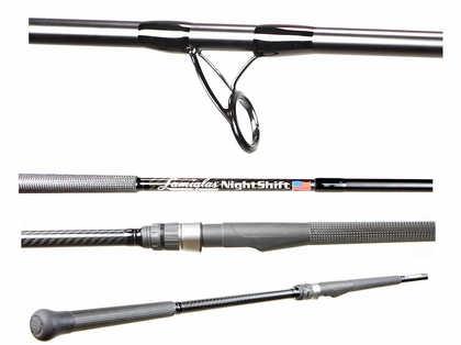 Lamiglas NS10MHS Nightshift Surf Rod - 10 ft.