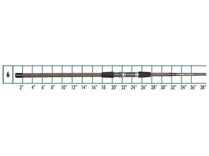Lamiglas XS 11 MS Graphite Surf & Jetty Spinning Rod
