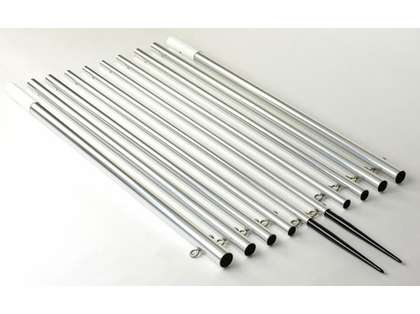 Lee's Tackle AP3719XS/SK Aluminum Skiff Outrigger Poles