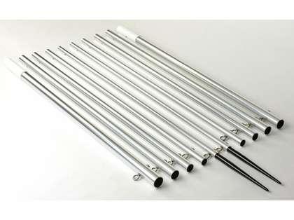 Lee's Tackle AP3722SK Aluminum Skiff Outrigger Poles