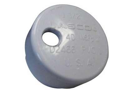 Lee's Tackle Large PVC Drain Cap
