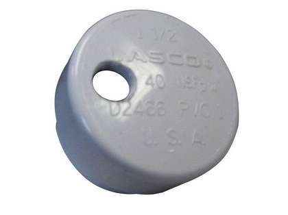 Lee's Tackle PVC Drain Cap