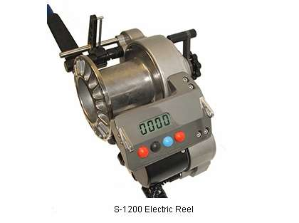 Lindgren-Pitman S-1200 Commercial Electric Reel with Titanium Spool