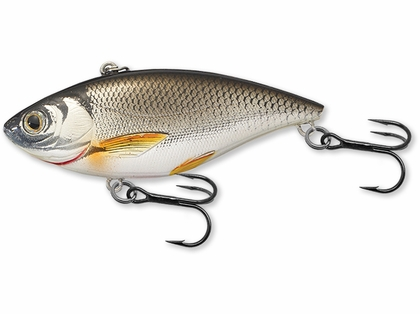 LIVETARGET Golden Shiner Lipless Rattlebait - 2in - Silver/Black