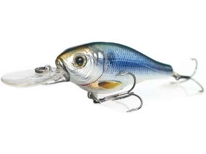 LIVETARGET Lures Threadfin Shad Crankbait S75M Medium Dive 3in