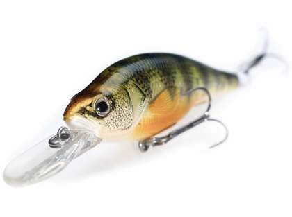 LIVETARGET Lures Yellow Perch Crankbait/Jerkbait YP73D 2-7/8in