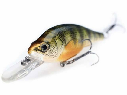 LIVETARGET Yellow Perch Crankbait/Jerkbait 6-1/4