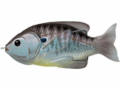 LiveTarget SFH75T5 Sunfish Hollow Body Lure Natural/Olive Bluegill
