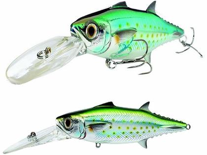 LIVETARGET SMK120D Spanish Mackerel Trolling Lure Silver/Green
