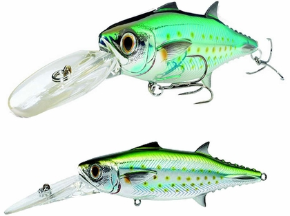 LIVETARGET SMK160D Spanish Mackerel Trolling Lure Silver/Green