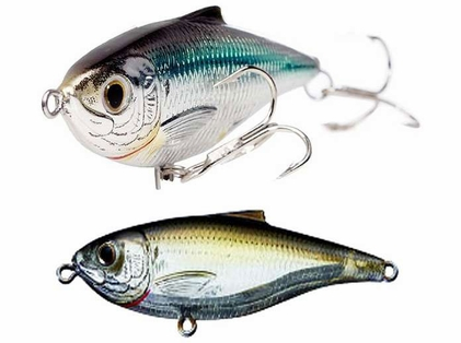 LIVETARGET SST115F Scaled Sardine Twitchbait Lure 933 Silver/Green