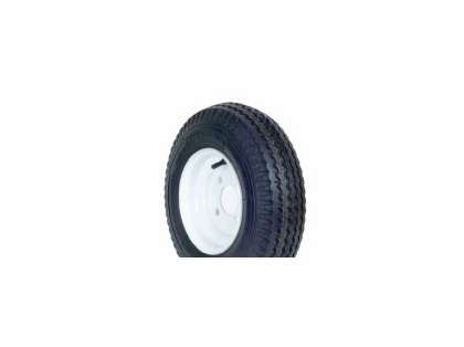 Load Star 30020 480-8 K371 Bias 8'' Tire/Wheel Assembly - White Rim