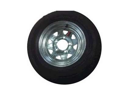 Load Star 30550 480-12 K353 Bias 12'' Tire/Wheel Assembly
