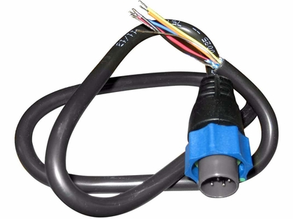 Lowrance 000-10046-001 Adapter Cable 7-Pin Blue to Bare Wires