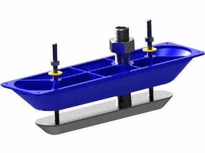Lowrance 000-11459-001 StructureScanHD Sonar S/S Thru-Hull Transducer