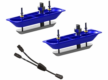 Lowrance 000-11460-001 StructureScanHD Sonar S/S TH Transducer Pair