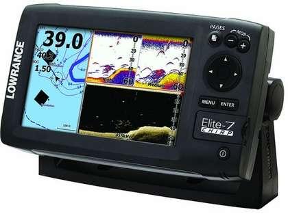 Lowrance 000-11665-001 Elite-7 CHIRP Base Fishfinder/Chartplotter