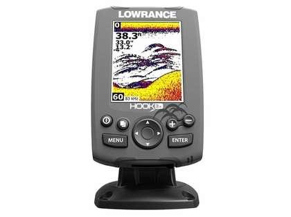 Lowrance 000-12635-001 HOOK-3x Fishfinder w/ 83/200 Transducer