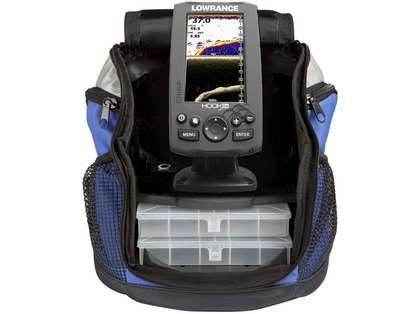 Lowrance 000-12643-001 Hook 4x Ice Machine w/ Portable Transducer