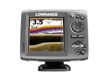 Lowrance 000-12653-001 HOOK-5x Fishfinder w/ HDI Transducer