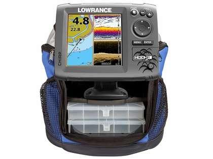 Lowrance 000-12654-001 HOOK-5 Combo Ice Machine w/ Ice Transducer