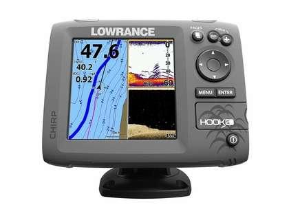 Lowrance 000-12657-001 HOOK-5 Combo w/ HDI Transducer & Navionics+