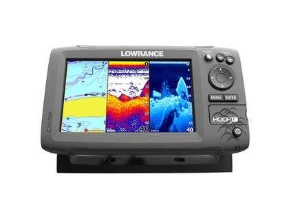 Lowrance 000-12663-001 HOOK-7 Fishfinder/Chartplotter Combo