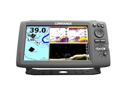 Lowrance 000-12667-001 HOOK-9 Combo w/ HDI Transducer & Navionics+