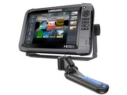 Lowrance 000-13265-001 HDS-9 Gen3 Insight w/TotalScan T/M Transducer
