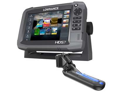 Lowrance 000-13267-001 HDS-12 Gen3 Insight w/TotalScan T/M Transducer