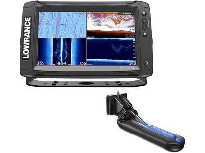 Lowrance 000-13274-001 Elite-9 Ti Combo w/ Totalscan Transducer