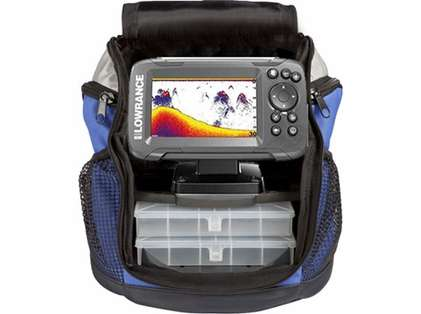 Lowrance HOOK2-4x 4in Fishfinder w/ Bullet Skimmer - All Season Pack