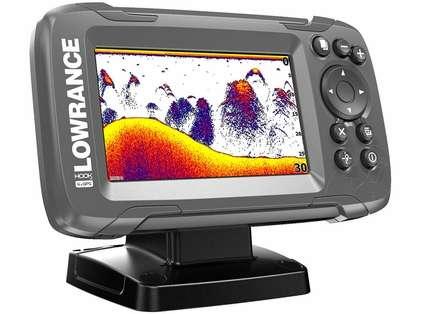 Lowrance HOOK2-4x 4in GPS Fishfinder w/ Bullet - All Season Pack