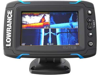 Lowrance 055-12421-001 Elite-5 Ti Touch Combo (Remanufactured)