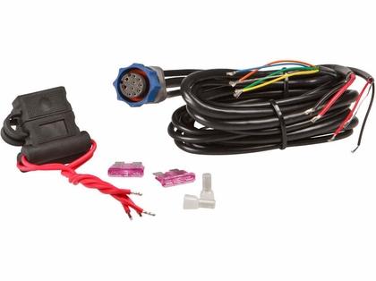 Lowrance 127-08 Power Cable w/ NMEA