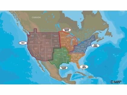 Lowrance C-MAP Lake Insight HD Maps