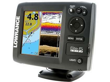 Lowrance Elite-5 CHIRP Gold Fishfinder/Chartplotter Combos